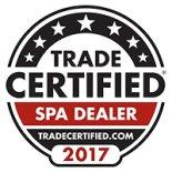 Certified spa dealer in ohio award winner