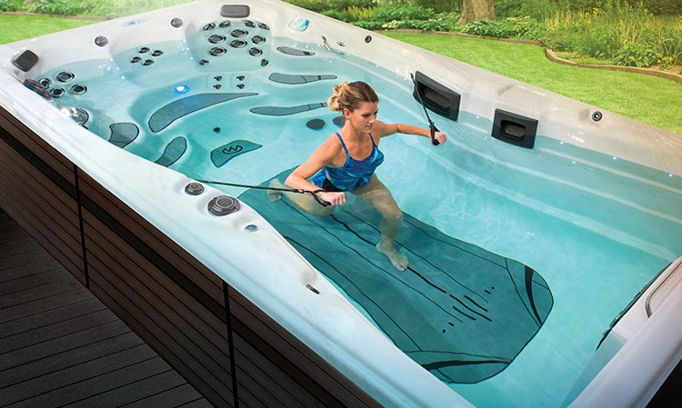 Spa In Swimming Pool: Swim Spas And Exercise Pools In Ohio