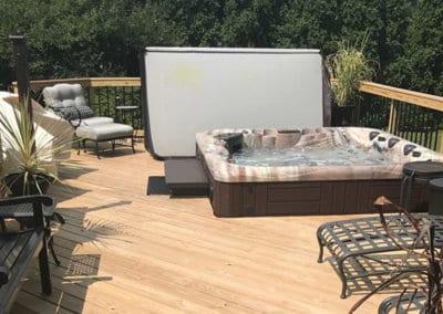 New Hot Tub Installation in MacDonald Ohio