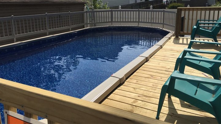 Above Ground Pools And In Ground Pools Ohio Leisuretime