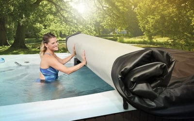 "What to Do When Your Hot Tub Cover Gets ""Heavy"""