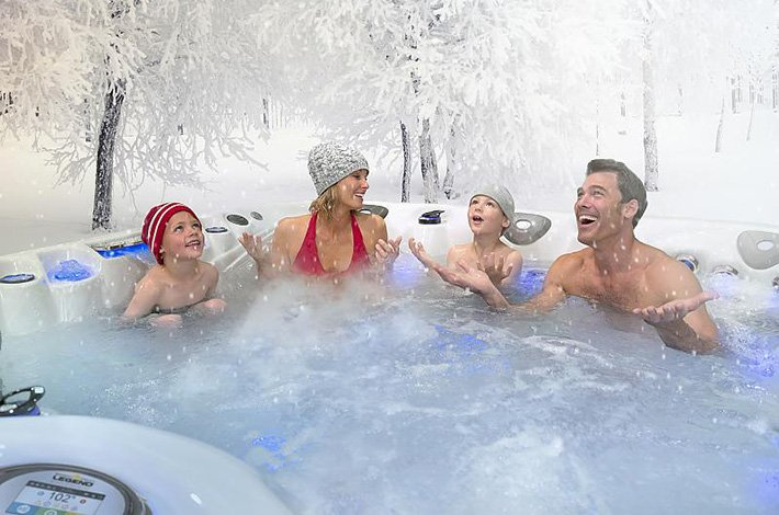 How to Use Your Hot Tub During the Winter? | Swim Spas OH