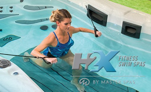 H2X Fitness Swim Spas